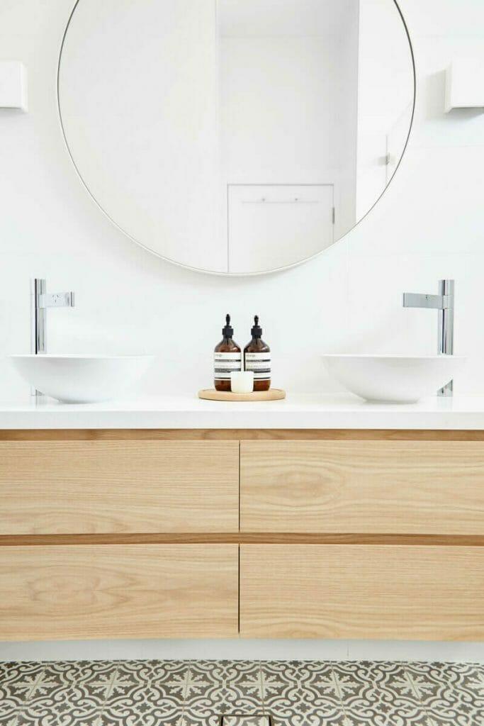 Vanity drawer fronts